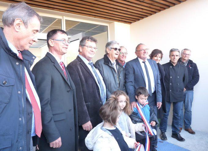 Inauguration de la nouvelle école de Pointis Inard.