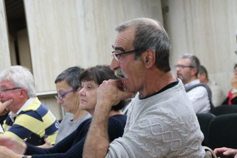 Michel Rueda a défendu la Calandreta