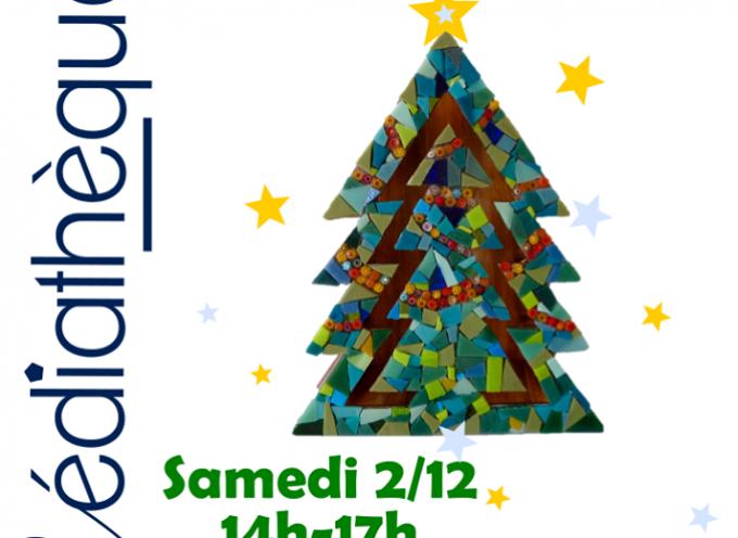 Médiathèque de Cazères : agenda de décembre.