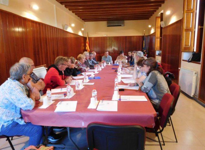 Comité de jumelage Rieux Volvestre : réunion de travail à Font Rubi.