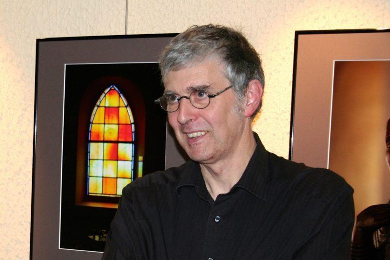 Pierre Rieu, lors d'un précédent vernissage