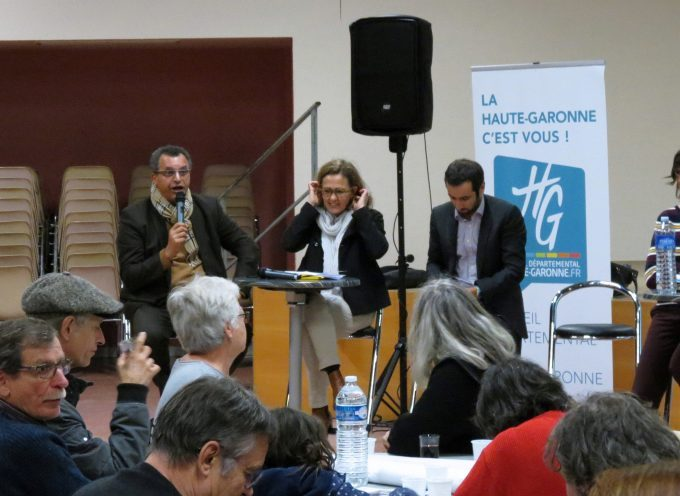 Carbonne : Le Conseil Départemental et la culture.