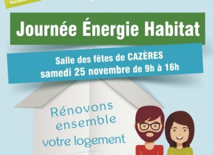 Journée Energie Habitat.
