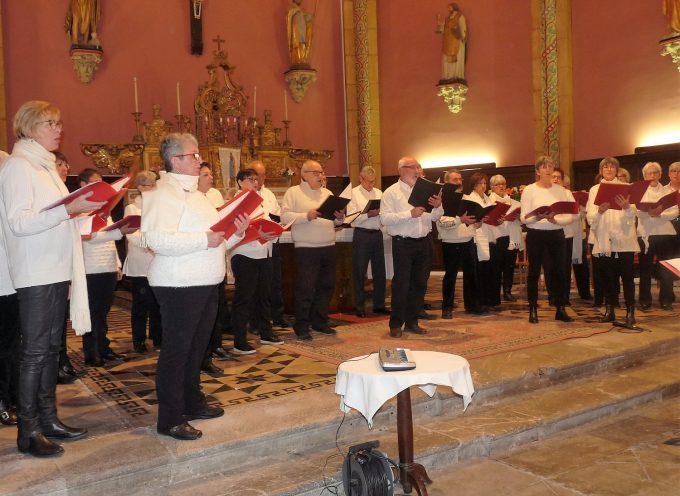 Par Monts et par Voix en concert en l'Eglise de Valentine.