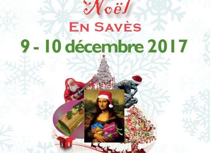 """""""L'art de fêter Noël en Savès"""" : Le programme."""