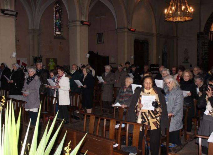 L'église St-Martin a accueilli la célébration œcuménique