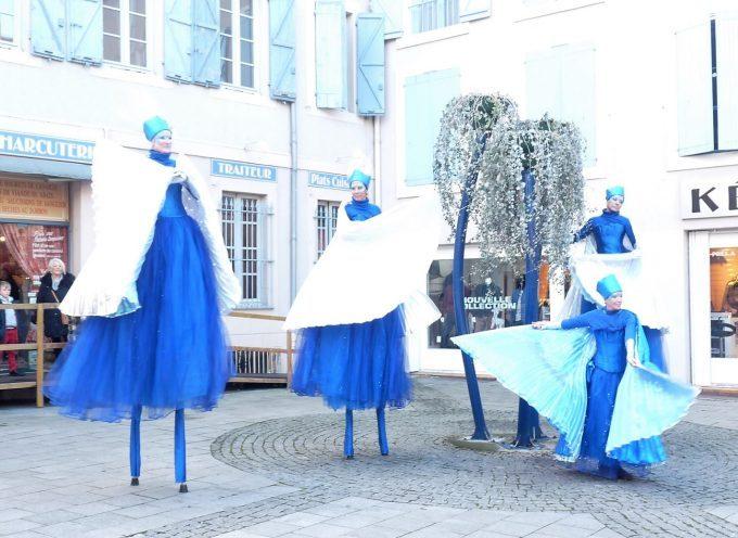 St Gaudens : La patinoire est là et le Père Noël aussi