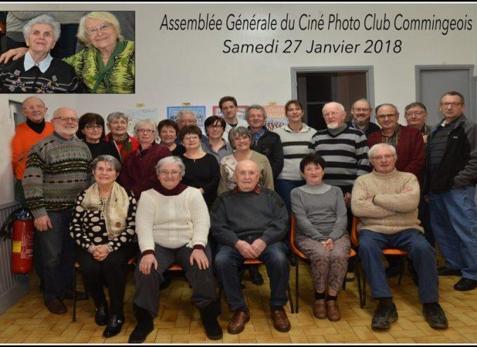 Assemblée générale du Ciné Photo Club Commingeois
