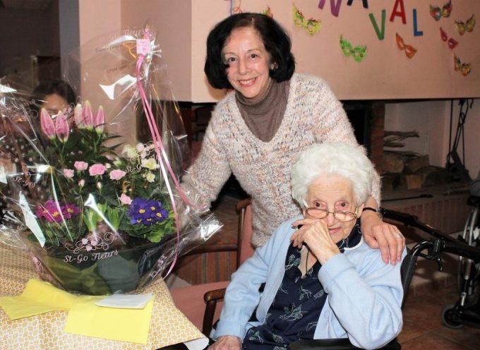 EPAHD de l'Ensoleillade : 104 ans pour Suzanne Sensuc