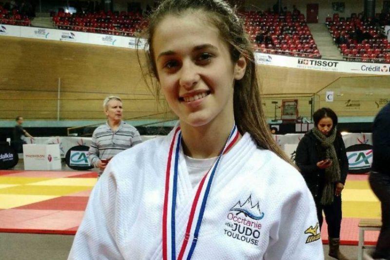 Chloé vice championne de France