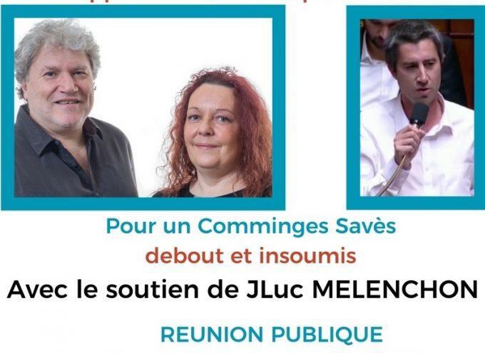 8ème circonscription : La France Insoumise en campagne