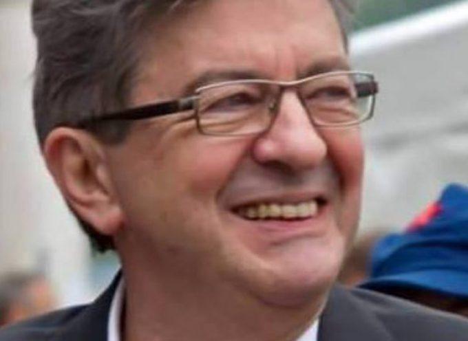 Jean-Luc Mélenchon en soutien à Philippe Gimenez