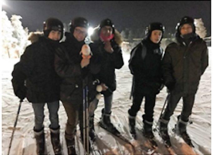 Quatre élèves du lycée Paul Mathou en Finlande