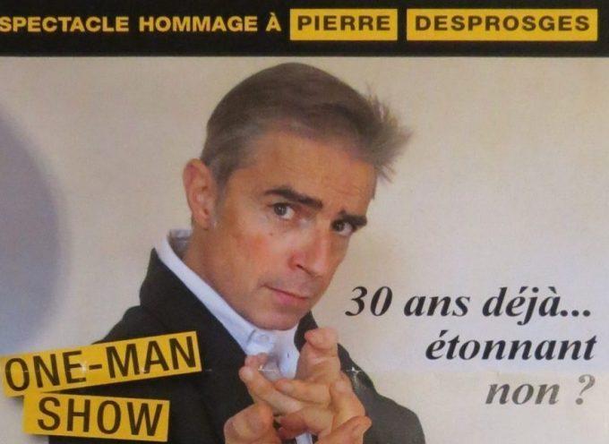 Marc Maurel rend hommage à Pierre Desproges.