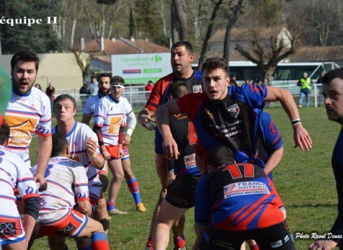 Rugby XV : L'UCF méritait mieux