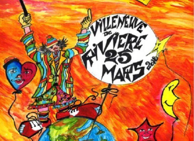 Carnaval à Villeneuve de Rivière
