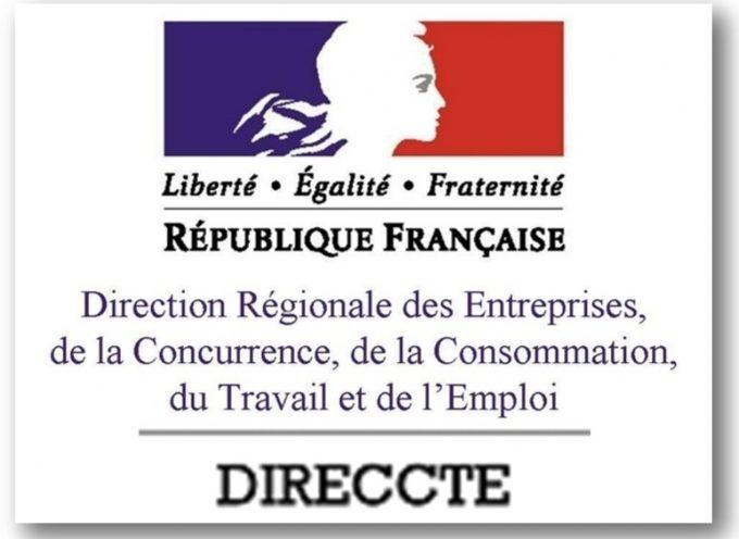 Direccte : Renseignements en droit du travail