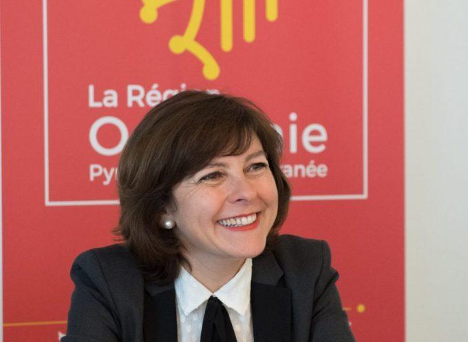 Carole Delga en déplacement en Tunisie