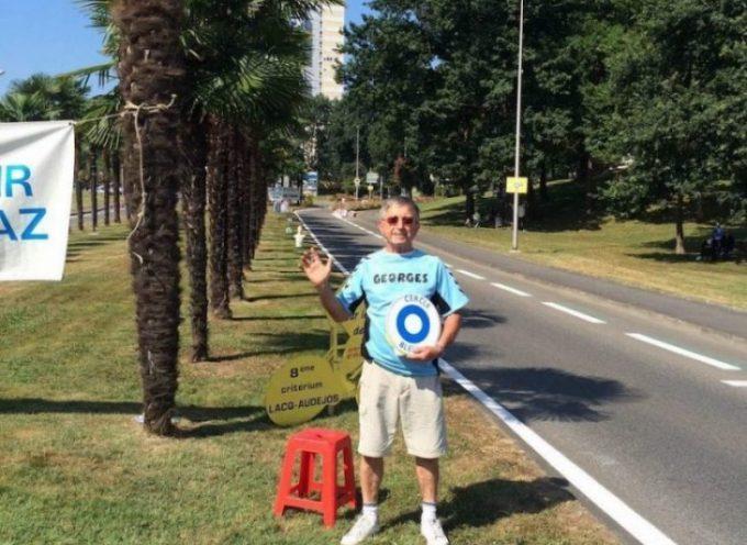 Le Cercle Bleu : un panneau qui positionne le conducteur face au don d'organes