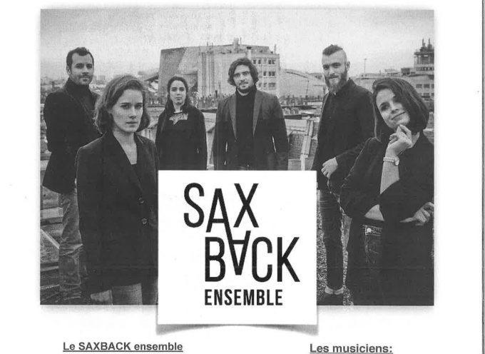 Le SaxBack Ensemble à Rieux