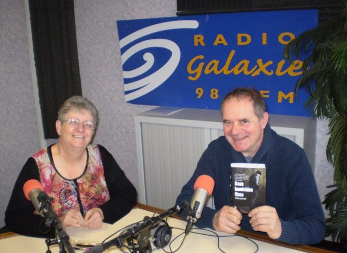 Thierry Benoit, un romancier à Radio Galaxie