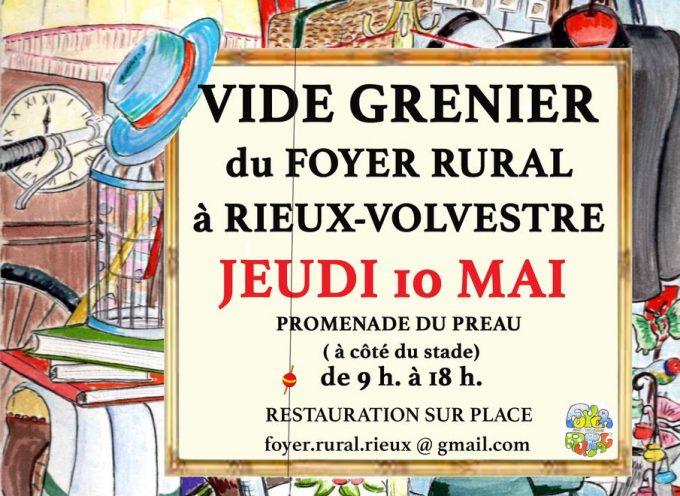 Vide grenier à Rieux-Volvestre
