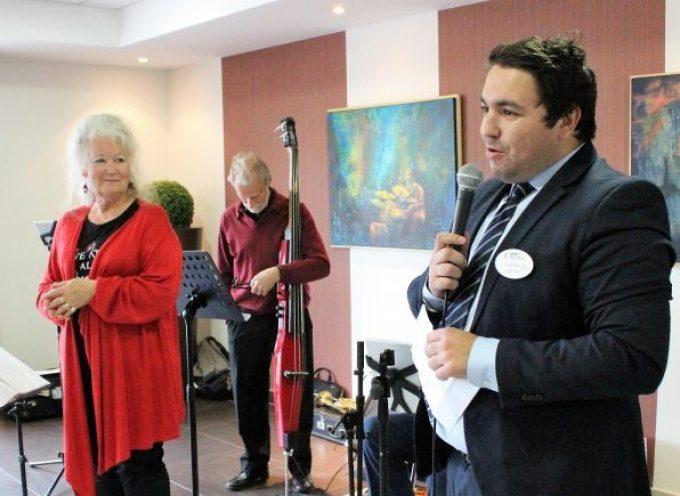 Un concert pour les résidents de l'EHPAD de Villeneuve