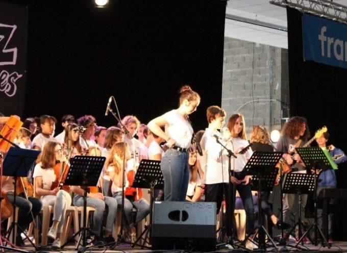 Vif succès du concert des classes Cham a la halle de Saint-Gaudens
