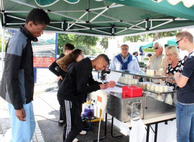 Découvrez les yaourts du lycée agricole de Saint-Gaudens