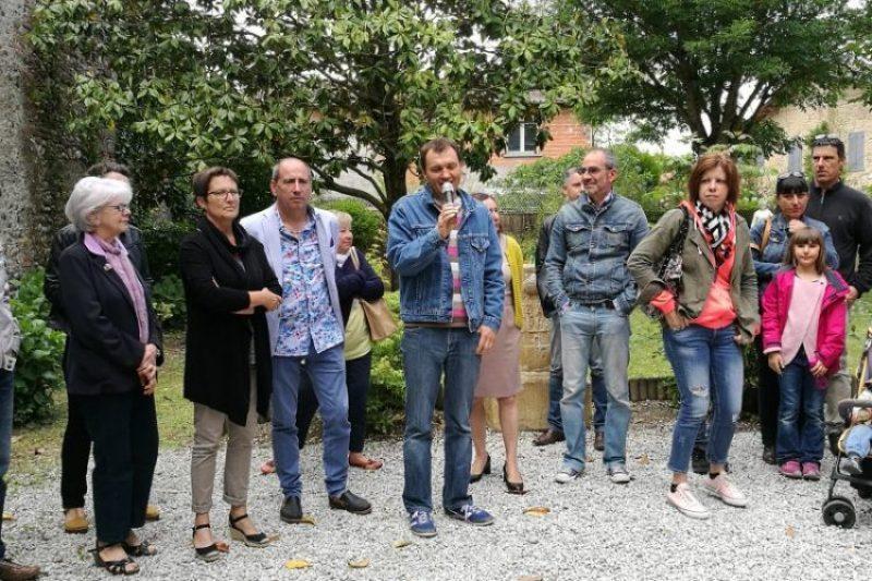 Inauguration du Festival Enfin Livre à la Case de Montserrat