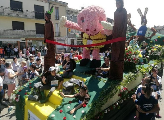 Fête des fleurs : Succès populaire pour le corso fleuri !