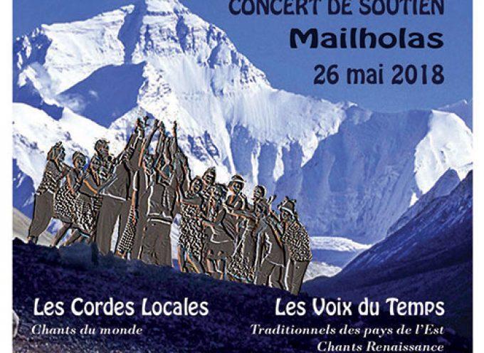 Concert au profit de l'association Himalpyramis