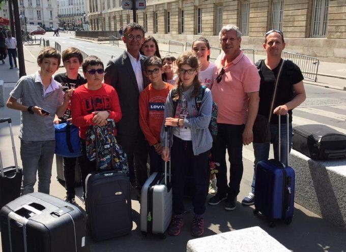 Visite de l'Assemblée Nationale avec le député Joël Aviragnet