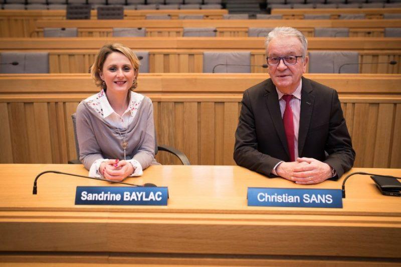 Sandrine BAYLAC et Christian SANS Conseillers Départementaux du canton de Cazères