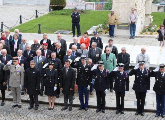 Saint-Gaudens : Cérémonie du 8 mai