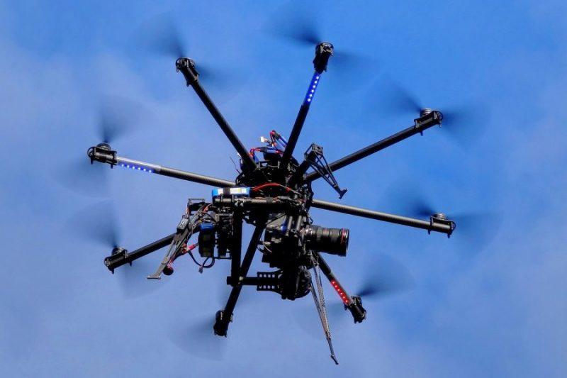 Les drones seront dans leur volière