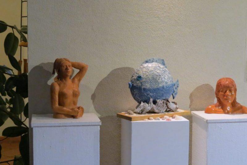 La céramique pour une expo