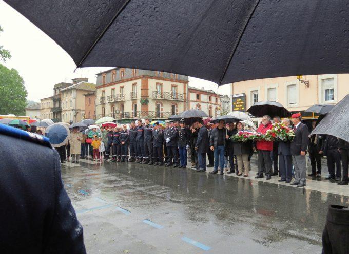 Commémoration de l'armistice de 1945.