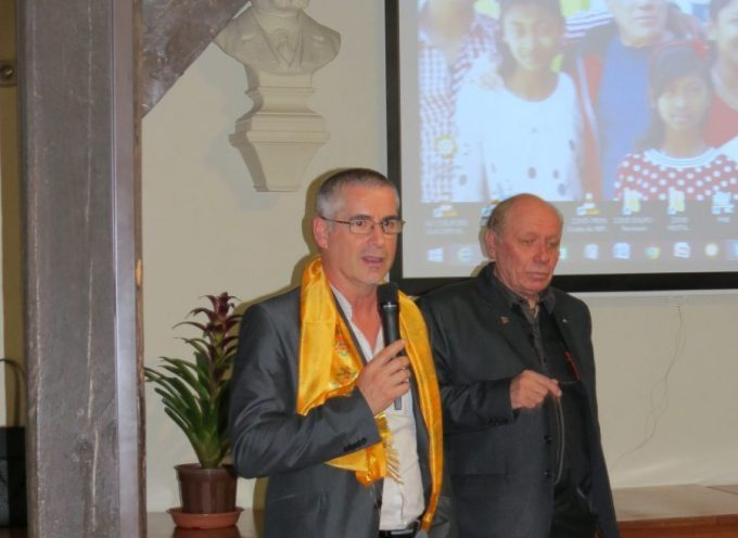 Bernard Bros membre d'honneur de l'association Ice Hymalayas