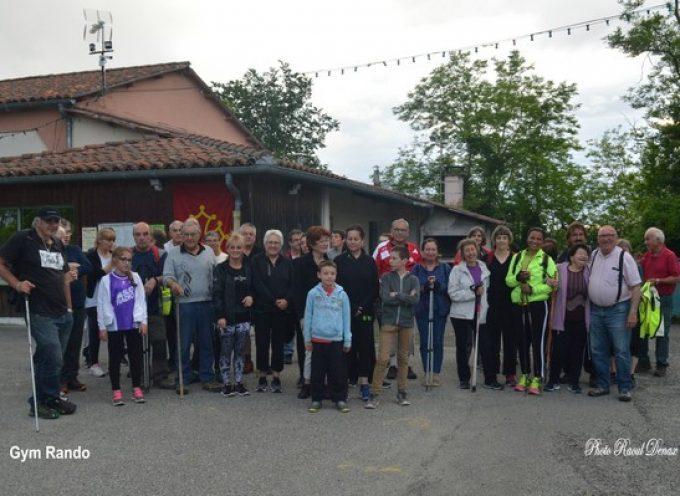 Sanrens : une invitée surprise pour la gym-rando de Saint-Araille