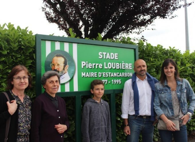 Estancarbon : Inauguration du stade Pierre Loubière