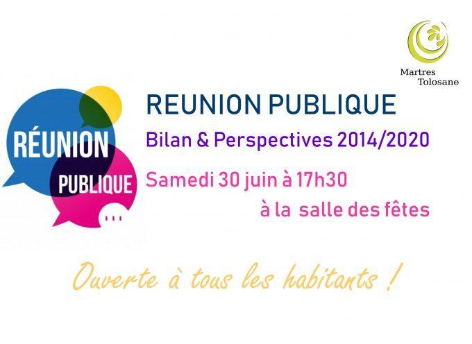 Réunion publique à Martres-Tolosane