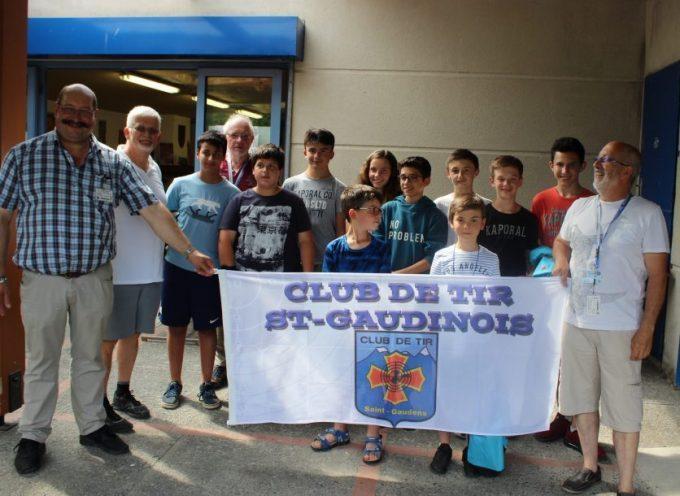 Le club de tir saint-gaudinois fier de ses élèves