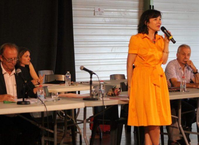 Carole Delga à la rencontre des élus communautaires de la 5C