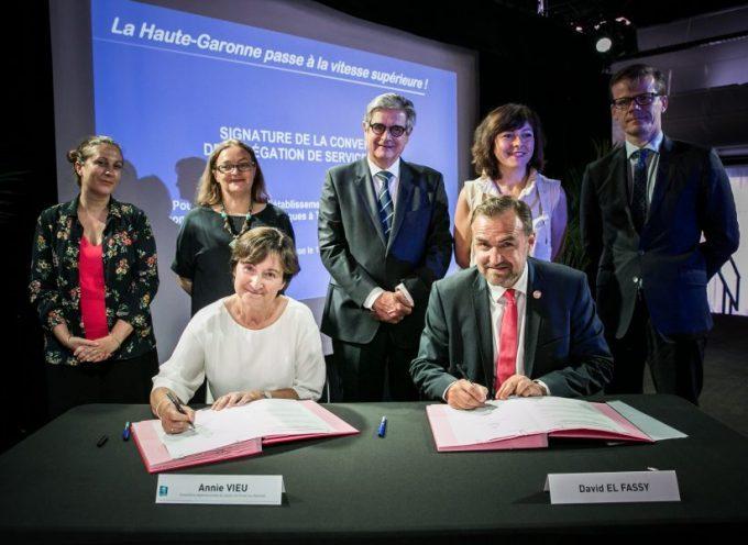 La fibre optique en Haute Garonne : équité et compétitivité des territoires