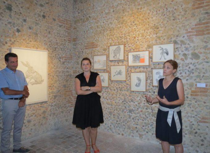 Les œuvres de Joëlle Château au Musée Abbal