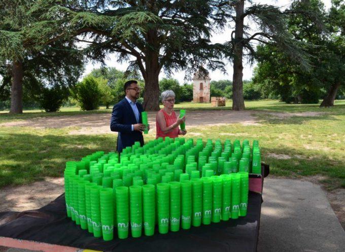 Des gobelets réutilisables, pour protéger la planète !