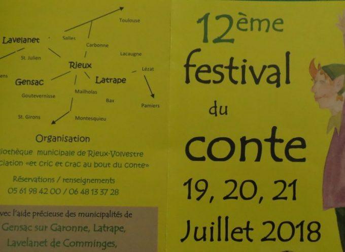12ème festival du conte de Rieux Volvestre