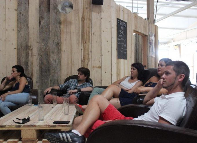 Landorthe :  Allez les Bleus, à l'Open Beer