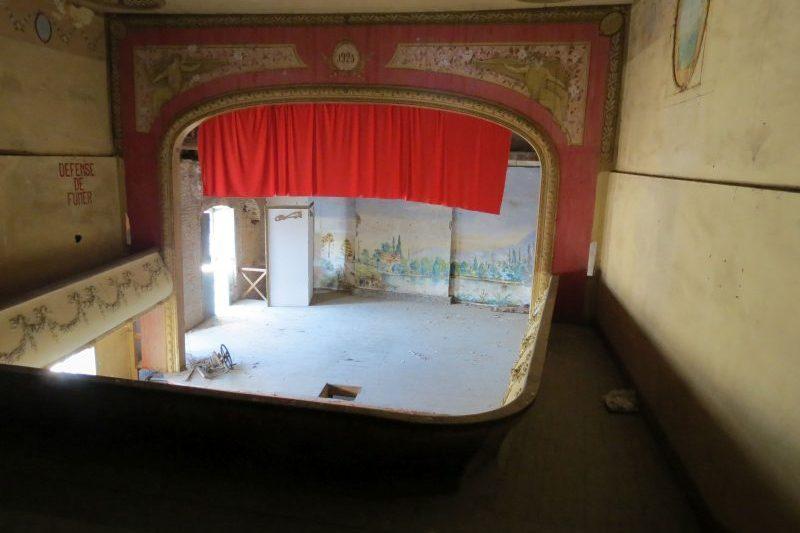 L'ancien théâtre  La Tourasse